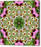 Daisy Daisy Do Kaleidoscope Canvas Print