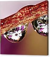 Daisy Droplets Canvas Print