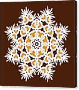Daisy Mandala  12t Canvas Print