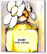 Daisy Marc Jacobs Canvas Print