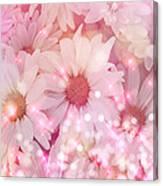 Daisy Sparkles Canvas Print