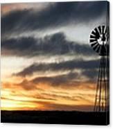 Dakota Days End Canvas Print