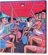 Dalawa Nalang Aalis Na Canvas Print