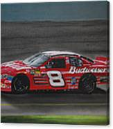 Dale Earnhardt Junior At California Canvas Print