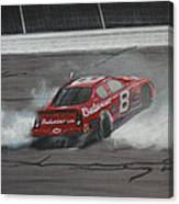 Dale Earnhardt Junior Victory Burnout Canvas Print