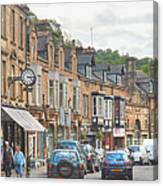 Dale Road - Matlock Canvas Print