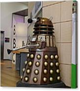 Dalek At The Bbc 2 Canvas Print