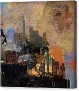 Dallas Abstract 002 Canvas Print