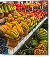 Dallas Farmers Market 2 Canvas Print
