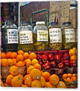 Dallas Farmers Market - Pickels? Canvas Print
