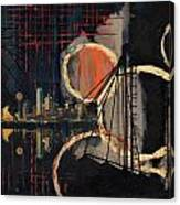 Dallas Skyline 002 Canvas Print