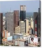 Dallas Skyline Canvas Print