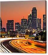 Dallas Sunrise Canvas Print