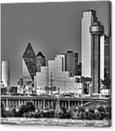 Dallas The New Gotham City  Canvas Print