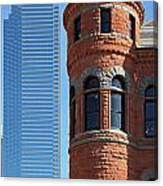 Dallas West End Old Red Museum Canvas Print
