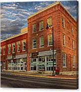 Daly Tea Building Canvas Print