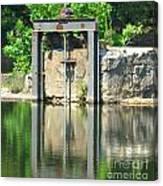 Dam Gate Canvas Print