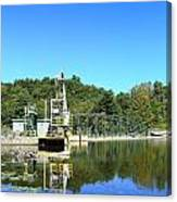 Dam Power Canvas Print