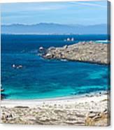 Damas Island Beach Canvas Print