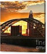 Dan C Beard Bridge 9917 Canvas Print