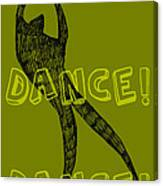 Dance Dance Dance Canvas Print