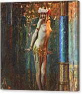 Dance De Salome Canvas Print