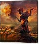 Dance In The Fire Canvas Print