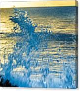 Dance Of The Crashing Wave Canvas Print