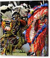 Dance To The Beat Of The Drum Canvas Print