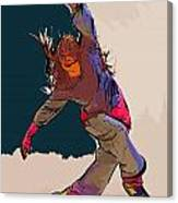 Dancer 40 Canvas Print