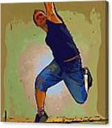 Dancer 50 Canvas Print