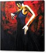 Dancer Flamenco Canvas Print