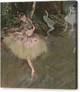 Dancer Taking A Bow  Canvas Print