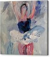 Dancers 132 Canvas Print