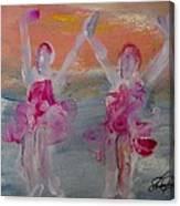 Dancers 135 Canvas Print