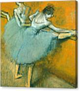 Dancers At The Barre Canvas Print