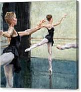 Dancers At Work Canvas Print
