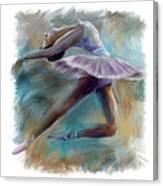 Dancing Ballerina Canvas Print