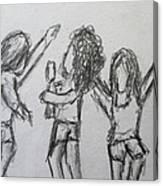 Dancing Children Canvas Print