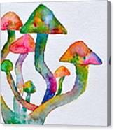 Dancing Cubensis Canvas Print