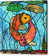 Dancing Fish Canvas Print
