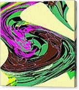 Dancing Goose 2 Canvas Print