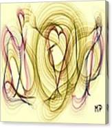 Dancing Heart Canvas Print