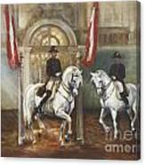 Dancing Horses Canvas Print