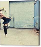 Dancing In A Junk Yard Canvas Print