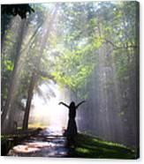 Dancing In God's Light Copyright Willadawn Photography Canvas Print