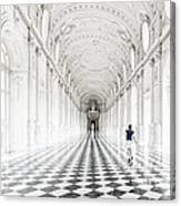 Dancing In The Galleria Grande Canvas Print