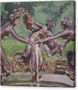 Dancing Maidens Canvas Print