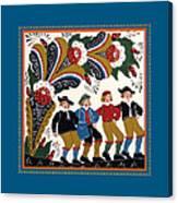 Dancing Men I Canvas Print