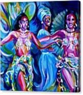 Dancing Panama Canvas Print